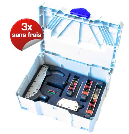 offre equipement systainer 3x sans frais