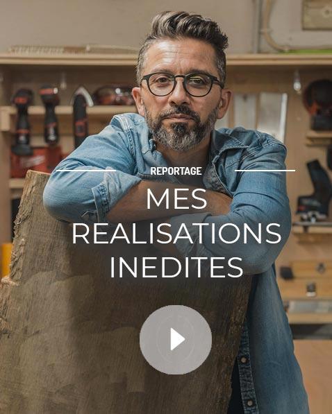 Reportage sur les réalisations inédites de Jean-François Tensa